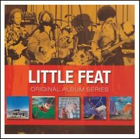 LITTLE FEAT (5 CD) SAILIN' SHOES + DIXIE CHICKEN + DON'T FAIL ME + 2 MORE *NEW*