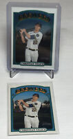 2021 Topps Heritage Christian Yelich Chrome Parallel /999 and Base Card Lot