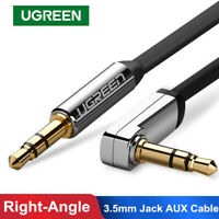 Ugreen 3.5mm Jack Audio Cable 90 Degree Right Angle AUX Cable For Car Xiaomi