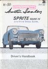 Austin Healey Sprite Mk IV USA Handbook AKD7062A inc Emission Control 1968