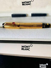 More details for mont blanc fountain pen - boheme rouge gold limited edition
