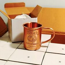 36 Tito's Vodka Copper Moscow Mule Mug Set Bulk Lot Wholesale New 36x