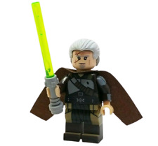 *NEW* Custom Printed - RAHM KOTA - FORCE UNLEASHED Jedi Master Block Minifigure
