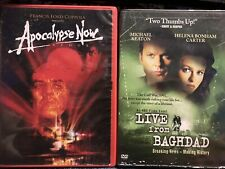 Apocalypse Now & Live From Baghdad Dvds
