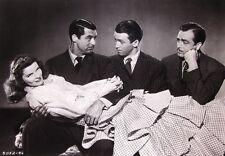 PHILADELPHIA STORY clipping Katharine Hepburn w/ Clark Gable B&W photo 1940