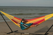 NEW Camping Hiking COTTON MAYAN Mexican Hammock Double