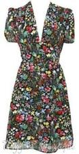 Topshop Short Sleeve Floral Tea Dresses