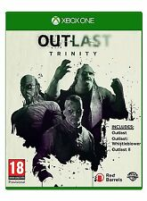 Outlast Trinity Xbox One XboxOne Game