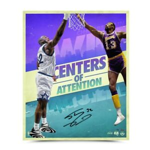 """Shaquille O'Neal Signed Autographed 20X24 Print """"Centers of Attention"""" #/50 UDA"""