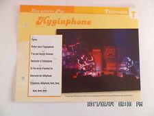CARTE FICHE PLAISIR DE CHANTER TELEPHONE HYGIAPHONE