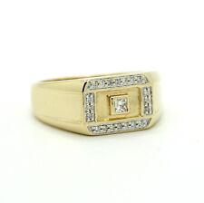 585er 14kt Gelbgold Ring mit 0,25ct. Brillanten
