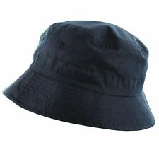 RAF BLUE BUCKET HAT COTTON Mens size Navy hiking sun cap travel camping bush hat