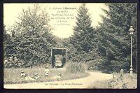 Colonie d' AVERNES ORPHELINAT NATIONAL des Chemins de Fer FRANCE Pelouse Porte