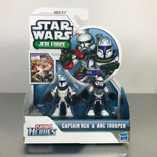 Playskool Star Wars Galactic Heroes Jedi Force CAPTAIN REX & ARC TROOPER 2-Pack