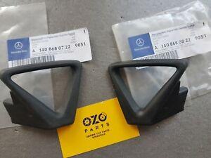 Mercedes-Benz C140 coupe seat belt guide frame A1408680822 A1408680722 RH + LH