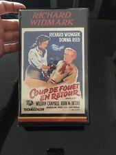VHS, Cassette Vidéo, K7 : COUP DE FOUET EN RETOUR, Richard Widmark,Reed, Western
