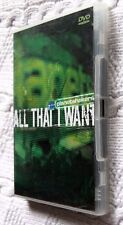 ALL THAT I WANT- PLANET SHAKERS (DVD) REGION-ALL, LIKE NEW, FREE POST AUS-WIDE