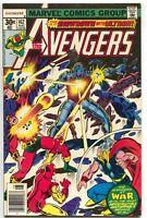 Avengers 162 Marvel 1977 VF Iron Man Captain America Thor 1st Jocasta Ultron