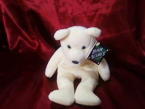 Salvino's Bamm Beano's Ivan Rodriguez #7 Baseball Stuffed Plush Bear 1998 NWT