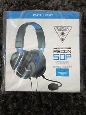 Turtle Beach Ear Force Recon 50P Headset for Sony PlayStation PS4 PS5 Gaming