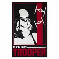 Star Wars Episode 7 Classic Trooper Panel Fleece Blanket Throw