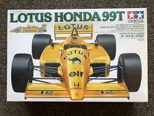 Tamiya 1:20 Lotus Honda 99T F1 Senna, Highly Detailed Kit, 1987, NIB #20020
