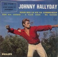 Johnny Hallyday ‎CD Single Pour Moi La Vie Va Commencer - France (EX/EX+)