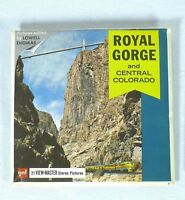View-Master Packet # A 323 Royal Gorge and Central Colorado 3 reels  Viewmaster