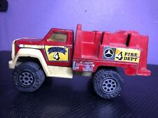 Vintage 1990's Tonka Watertown Fire Dept FireTruck Pumper Unit 4