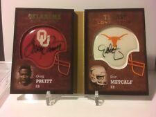 2011 Sweet Spot Rivalries Dual Autographs #RMP Eric Metcalf & Greg Pruitt BROWNS