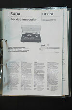 SABA PSP 910 Original Service-Manual/Handbuch/Schaltplan Top-Zustand! o34