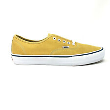 Vans Authentic Pro Ochre White Men's 13 Skate Shoes New Yellow