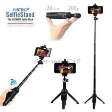 3in1 Mini Bluetooth Monopod Selfie Stick Tripod For Samsung Galaxy S20 S9 Plus