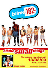 Original Blink-182 poster - All the Small Things