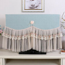 Cover Towel Tv Tv Dust Cover Flower Lace Embroidery Lace Coffee Tv Cover Spandex