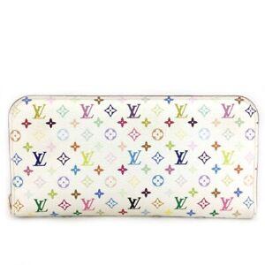 Louis Vuitton Monogram Multicolor Portefeiulle Ansoritto Long Wallet /?C0905