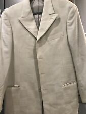 Hand Tailored Steve Harvey Sports Jacket Button Down 100% Merino Wool
