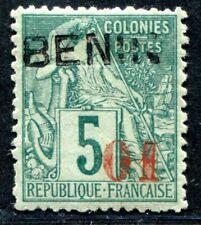 BENIN 1892 Yvert 14 * signiert seltene MARKE 400€(S3702