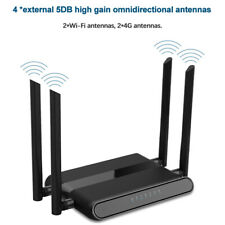 X12 300Mbps 4G CPE WiFi Wireless High Speed Router SIM Card Slot with 4 Antennas
