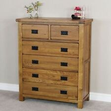Oak Rustic Chests Of Drawers