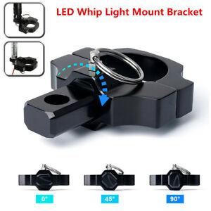 1x Universal UTV ATV Whip Light Flag Bar Lights Spot Lightbars Mounting Bracket