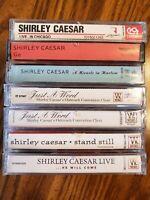 Lot of 7 Shirley Caesar Gospel Religious Cassettes