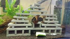 Pleco mansion - Natural slate pleco/fish breeding caves with Fry saver