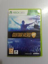 Guitar Hero LIVE Xbox 360 PAL UK INGLES SIN MANUAL LEER BIEN ANTES DE COMPRAR