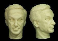 1/6  Scale Custom Jonathan Harris Dr. Zachary Smith Figure Head Lost In Space