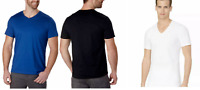 Calvin Klein Men's Liquid Touch Short Sleeve V-Neck Tee Shirt Cotton M L XL XXL
