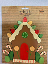 Embellish Your Story Magnets - Gingerbread House Magnet