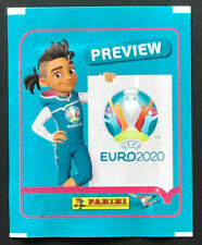 PANINI EURO 2020 Preview - 1 x Tüte / Packet Swiss with Vertical Barcode -