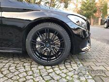 Winterräder Mercedes C43 Kombi Limo Coupe 225/45R18 RH Mo Edition schwarz Conti