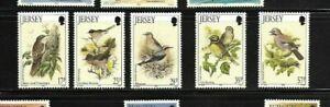 Jersey 1993 Birds set MNH
